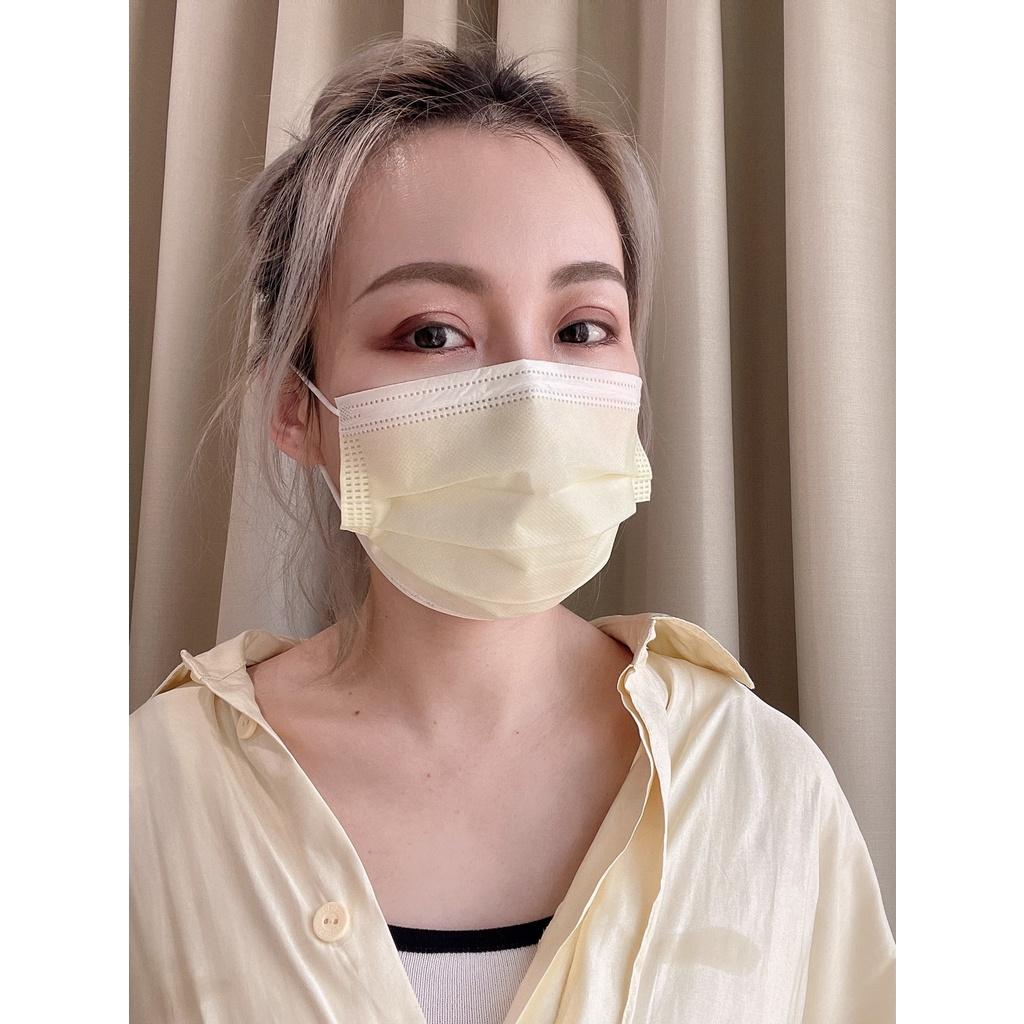 雙鋼印 成人口罩 50入 將元行 醫用口罩 平面口罩 防疫口罩 熔噴布口罩 醫療口罩 三層不織布口罩 口罩 MIT