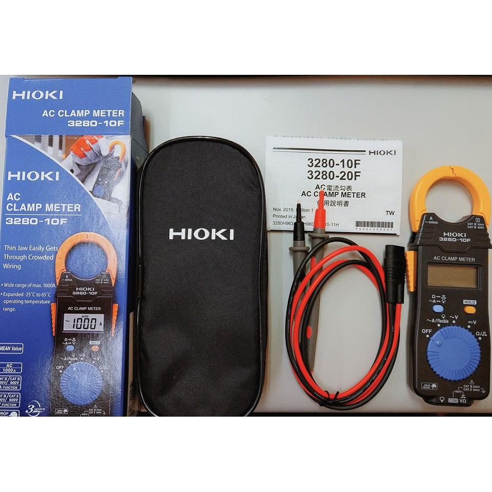21年2月 產 日本原裝  現貨 正品日本公司貨 HIOKI 3280-10F 3280-10F 電流勾表 自動型鉤錶