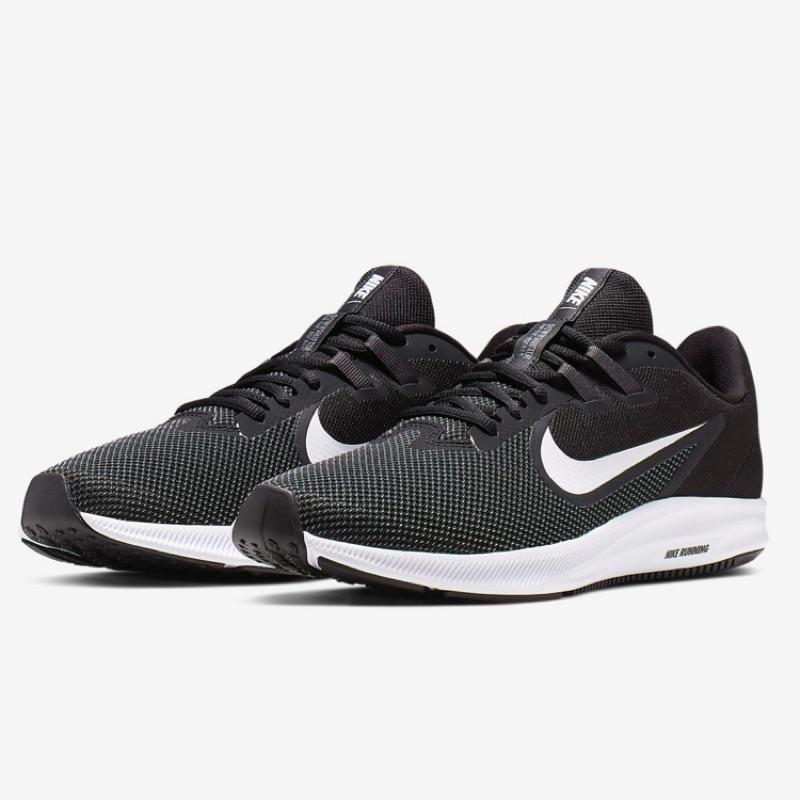 [Nike] Downshifter 9 男款運動慢跑鞋 黑色 AQ7481002《曼哈頓運動休閒館》