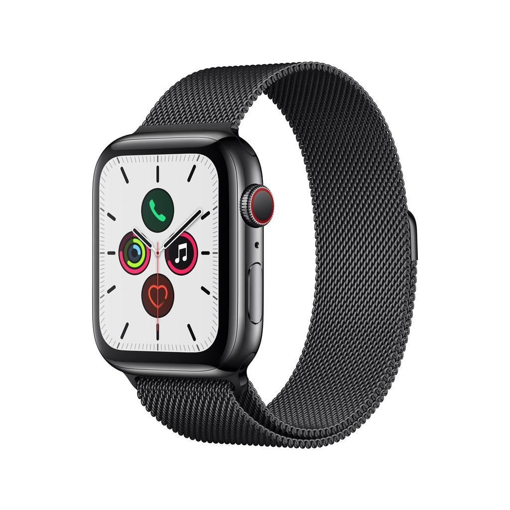 「降價」全新 Apple Watch S5 44m 不鏽鋼黑+米蘭錶帶