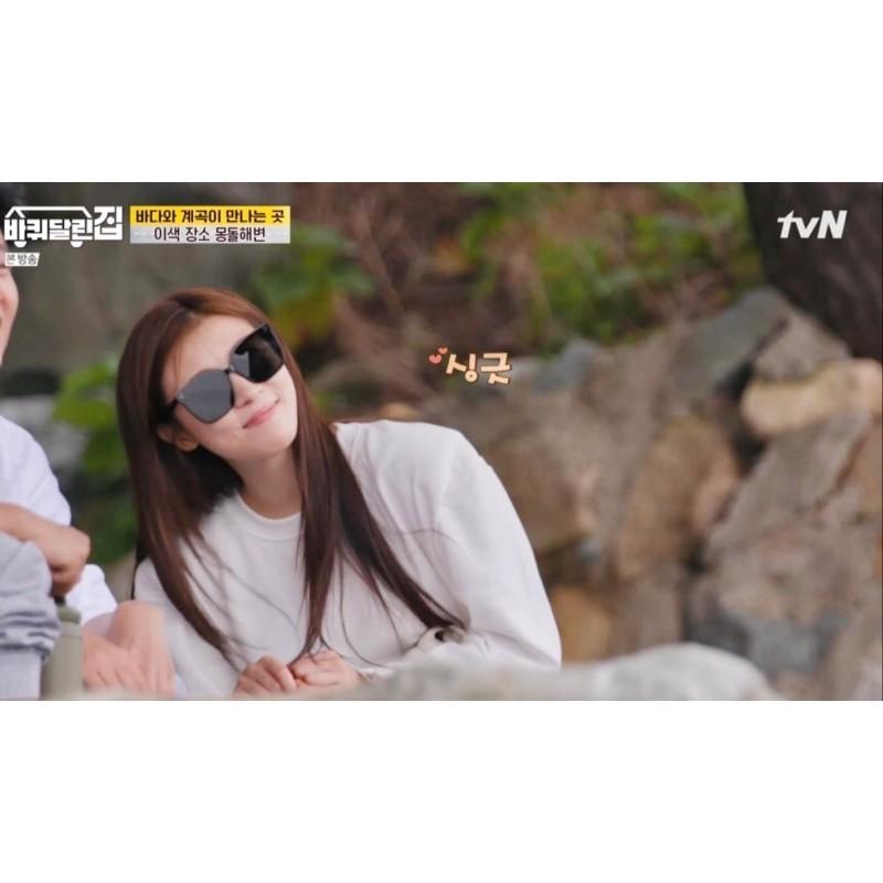 《預購》韓綜《帶輪子的家》河智苑著用🇰🇷GENTLE MONSTER HER 01 墨鏡