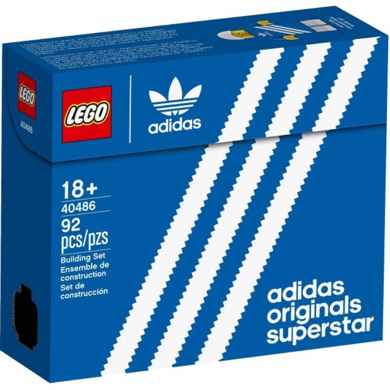 [qkqk] 全新現貨 LEGO 10282 40486 愛迪達鞋 樂高限定贈品系列