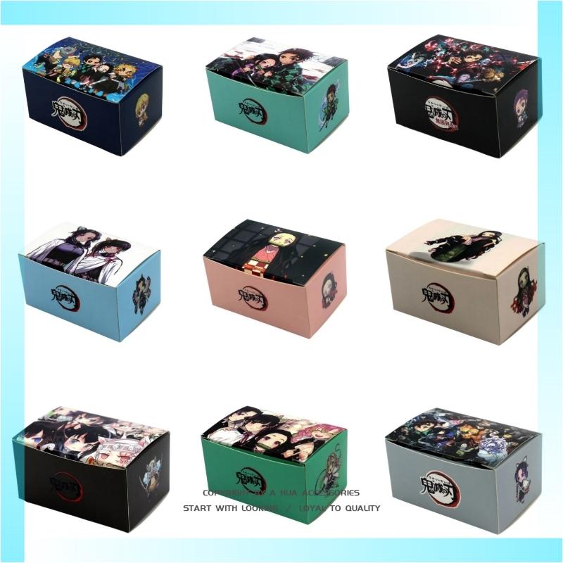 鬼滅之刃小鞋盒 鬼滅包裝盒 吊飾收納盒 動漫盒子 禮品盒 收藏娃娃機包裝盒