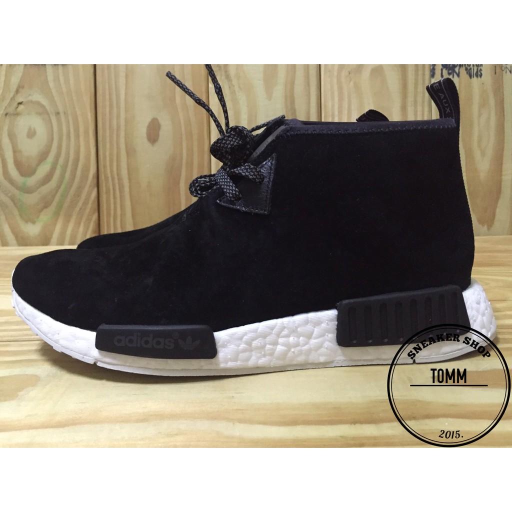 【Tom-m】ADIDAS NMD CHUKKA 黑色 麂皮 高筒 男鞋 26CM 現貨 S79146