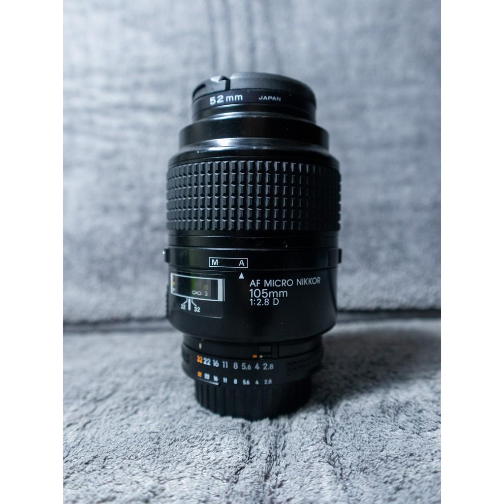 [二手平售] 📷 微距王 人像皇鏡 Nikon 105mm Micro Macro f/2.8 D Nikkor