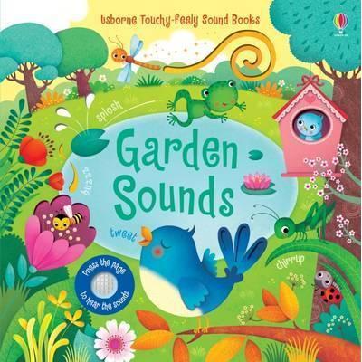 Usborne Garden sounds音效書有聲書