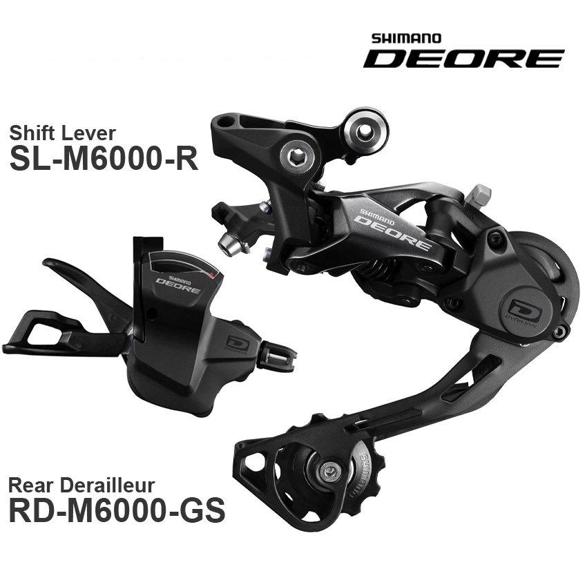 Fast delivery SHIMANO DEORE M6000 10v groupset  10-speed Shi