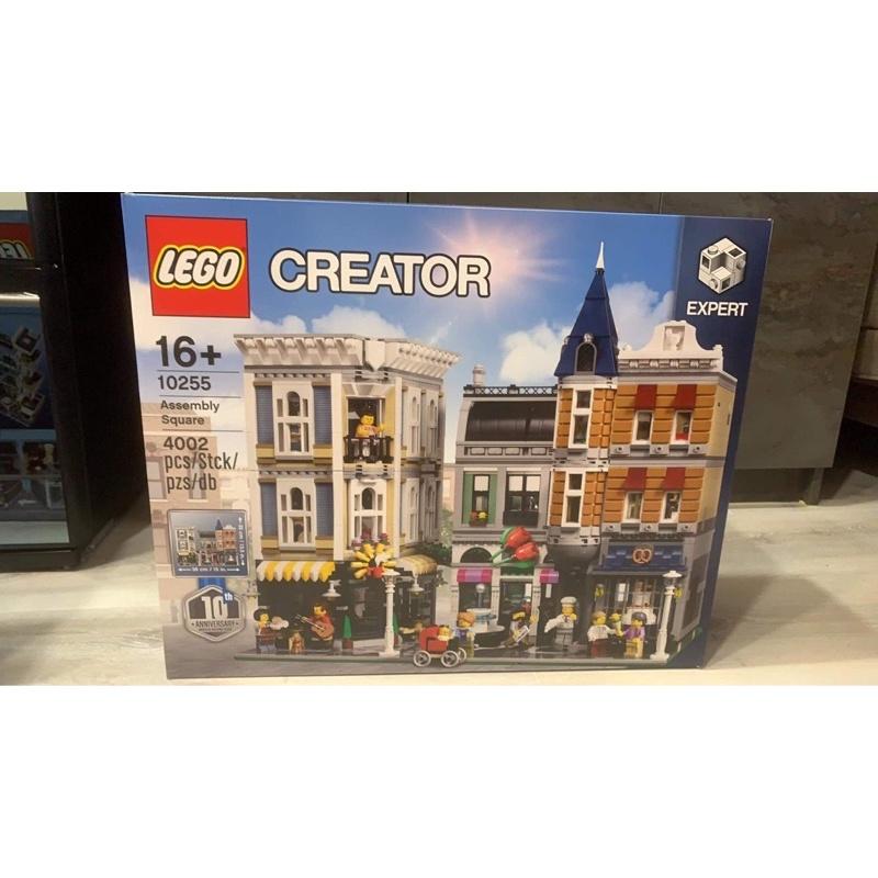 LEGO 街景系列 10255 聯合集會廣場 台北可自取/刷卡分期