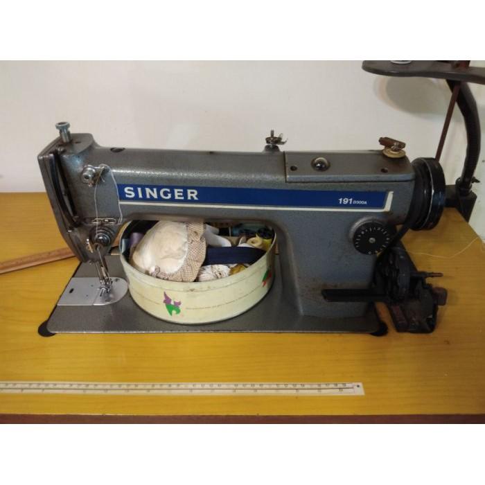 桃園國際二手貨中心----SINGER 勝家191 D300A 專業工業用 電動縫紉機