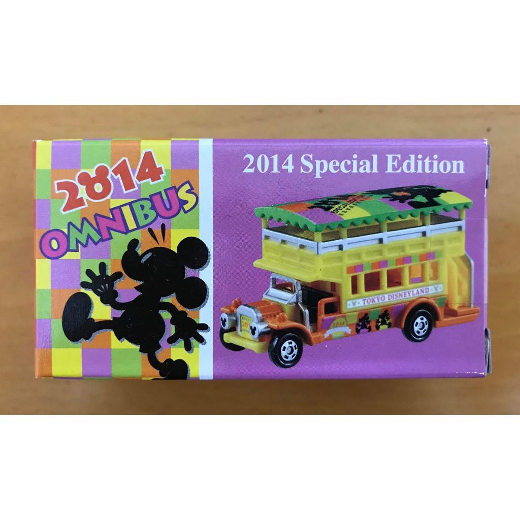 TOMY TOMICA 2014 東京迪士尼樂園 新年/新春  omnibus 雙層車 disney SPECIAL