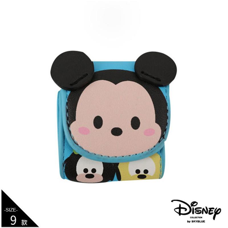 天藍小舖-迪士尼系列tsum tsum可愛大頭AirPods皮革保護收納套-共9色-A11110738