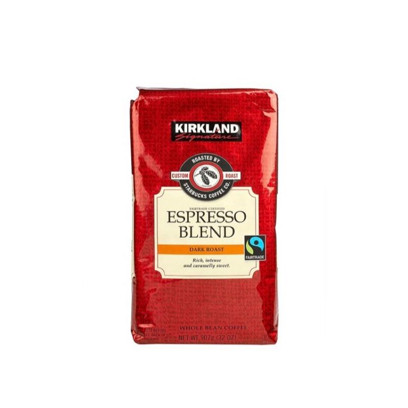 Kirkland Signature 科克蘭 深焙咖啡豆 1130公克*2