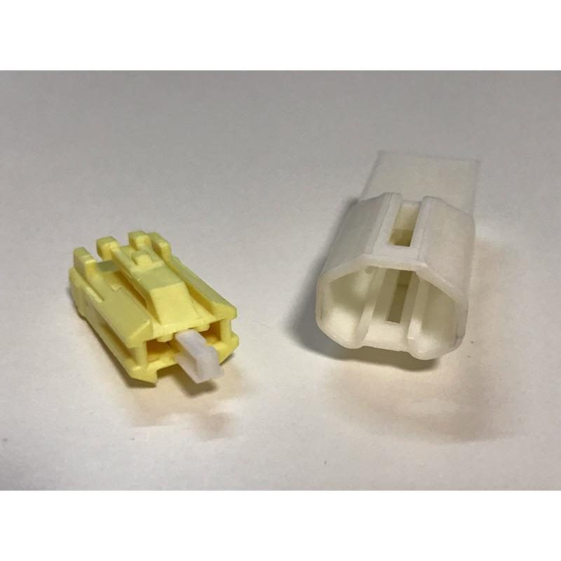 汽車用 三菱 福特 本田 現代 日產 豐田 福斯 2孔 音響 喇叭 小燈 非防水 2P 2孔 接頭 連接器