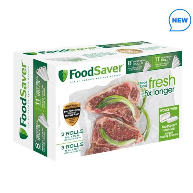 (宅配免運) Foodsaver 真空卷 (5入裝) 真空收納袋 烤雞袋 保鮮袋 食品包裝袋 食品保鮮袋 真空捲 好市多
