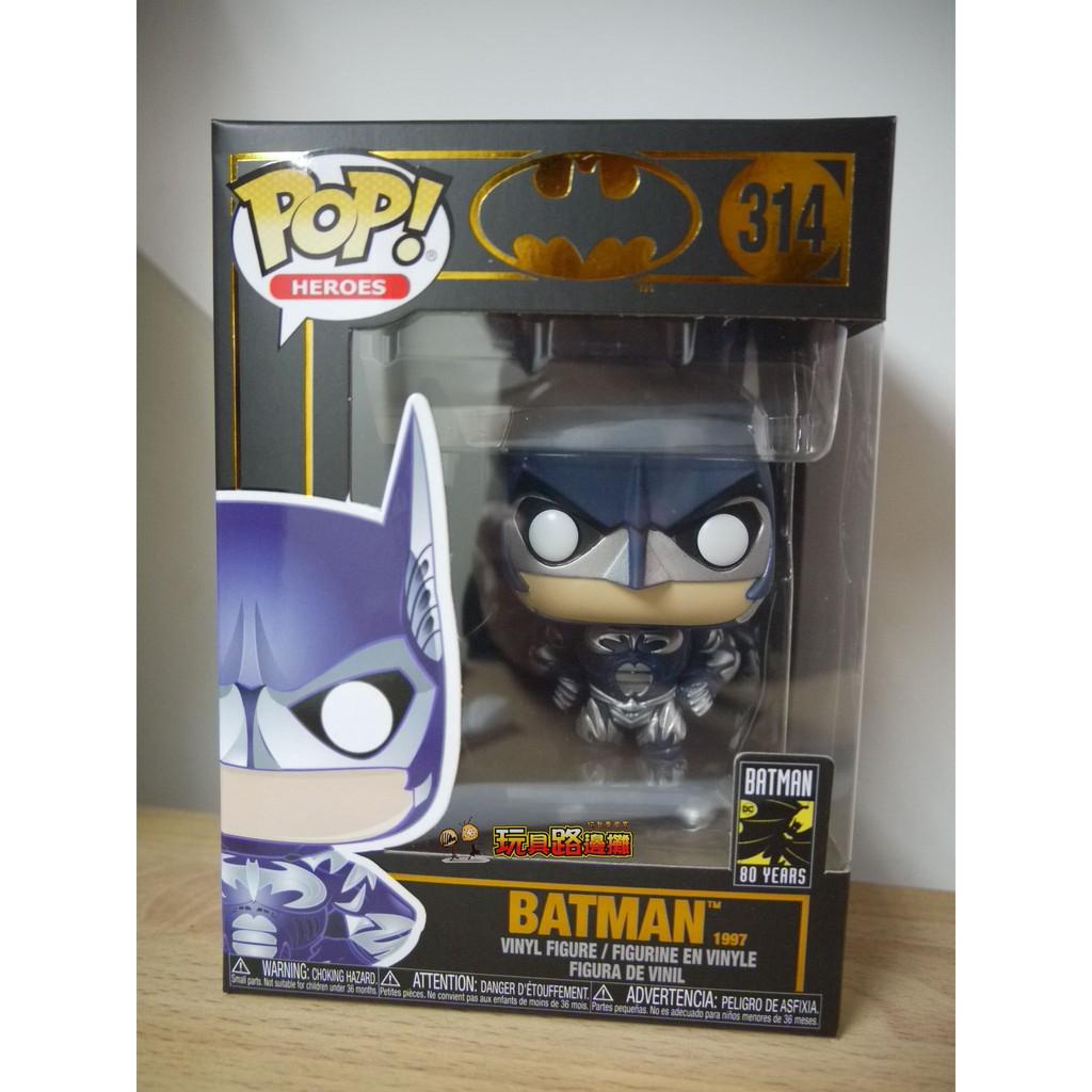 {玩具路邊攤} 代理版 FUNKO POP 蝙蝠俠80週年 蝙蝠俠 1997 BATMAN DC 314