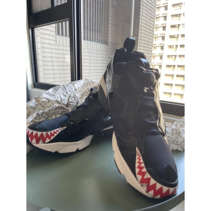 Reebok INSTAPUMP Fury OG BH atmosXbountyhunter 鯊魚 聯名限量鞋