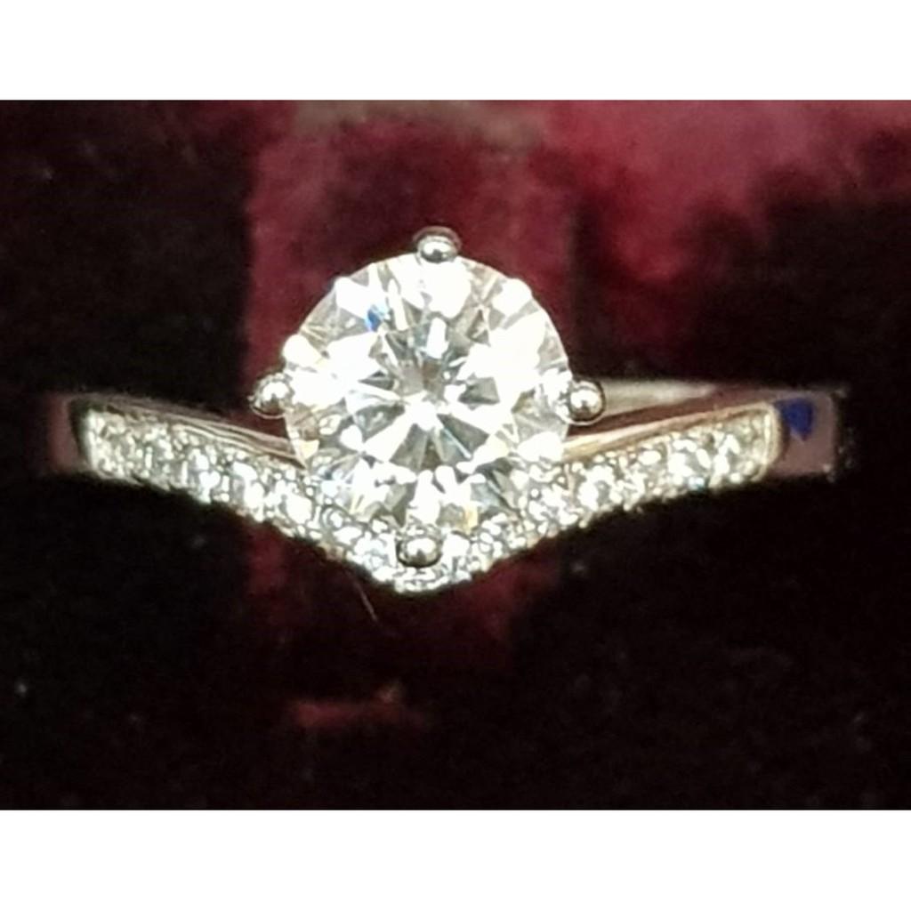 [金年春金仔店]GRA-681436232 鑽石 莫桑石 S925 女戒 鑽石戒指 戒指 鑽戒 尾戒 克拉-鑽戒歡迎自取