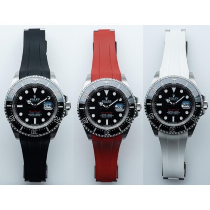 Rolex Deep Sea 126600 專用橡膠錶帶