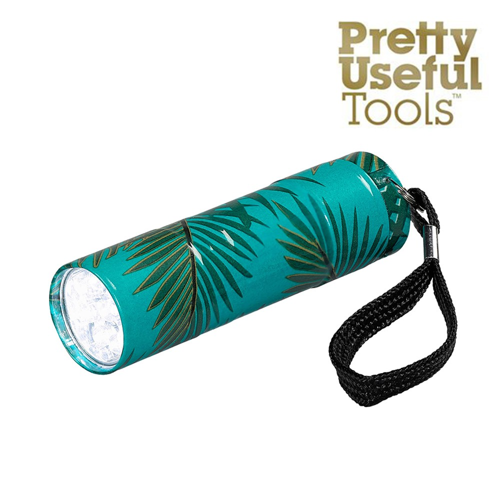 【Pretty Useful Tools】熱帶叢林系列 隨身迷你LED手電筒-探險綠