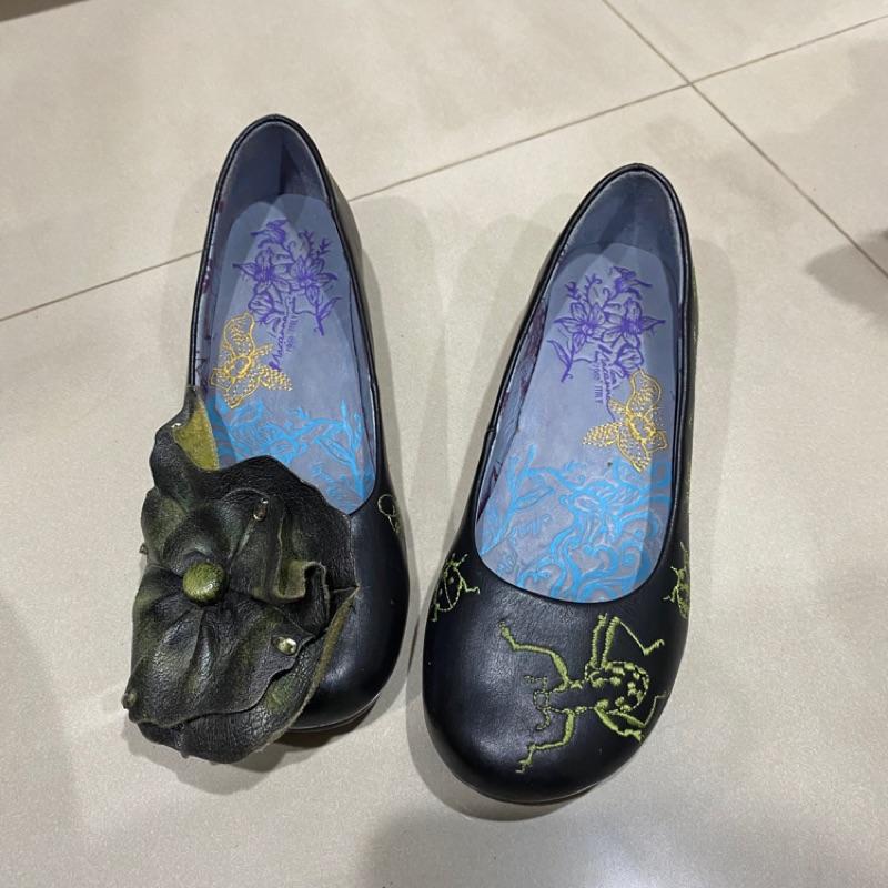 Macanna 中國風 娃娃鞋 麥坎納