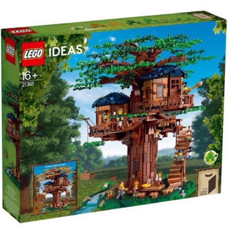 限大安區面交 限面交 全新 現貨 正版 LEGO 21318 樹屋 IDEAS 系列