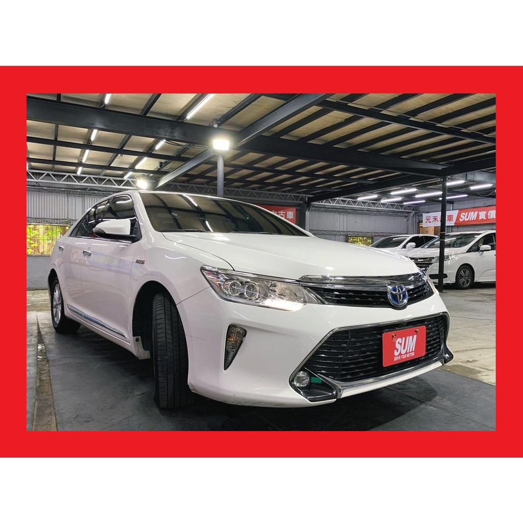 有認證有保固大電池Toyota Camry Hybrid