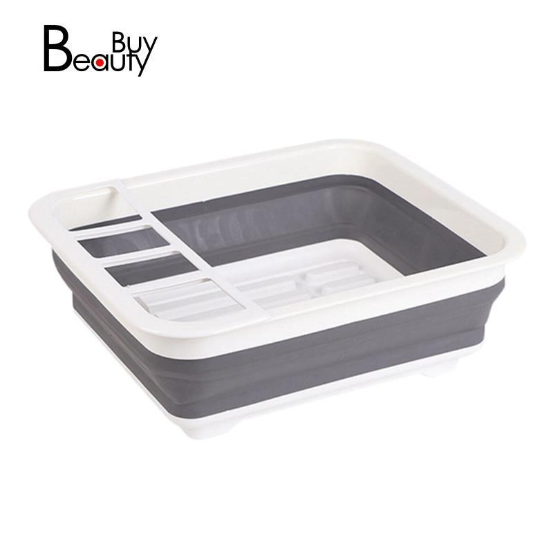 露營車可折疊碗碟架餐具架便攜式碗架碗房水槽設計用於房車旅行船