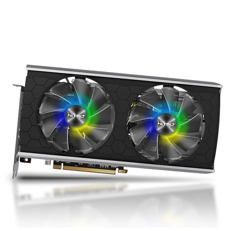 藍寶石RX5500XT 8G超白金極光版 戰RX590 1660Super顯卡 約6800XT