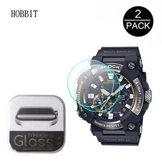 卡西歐 G-Shock Gwf-A1000 1a 1a2 1a4 運動手錶超薄透明屏幕保護膜的 2pcs 9h 防刮鋼化
