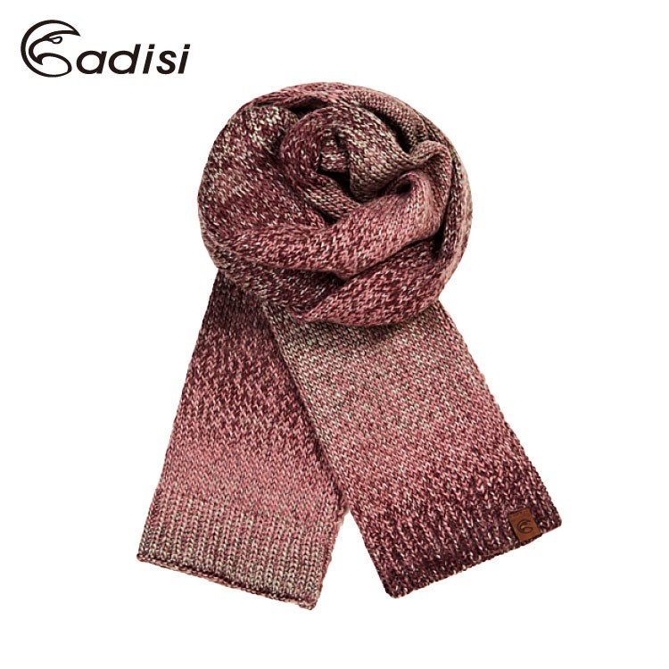 ADISI 漸層針織保暖圍巾AS17104 蝦皮24h