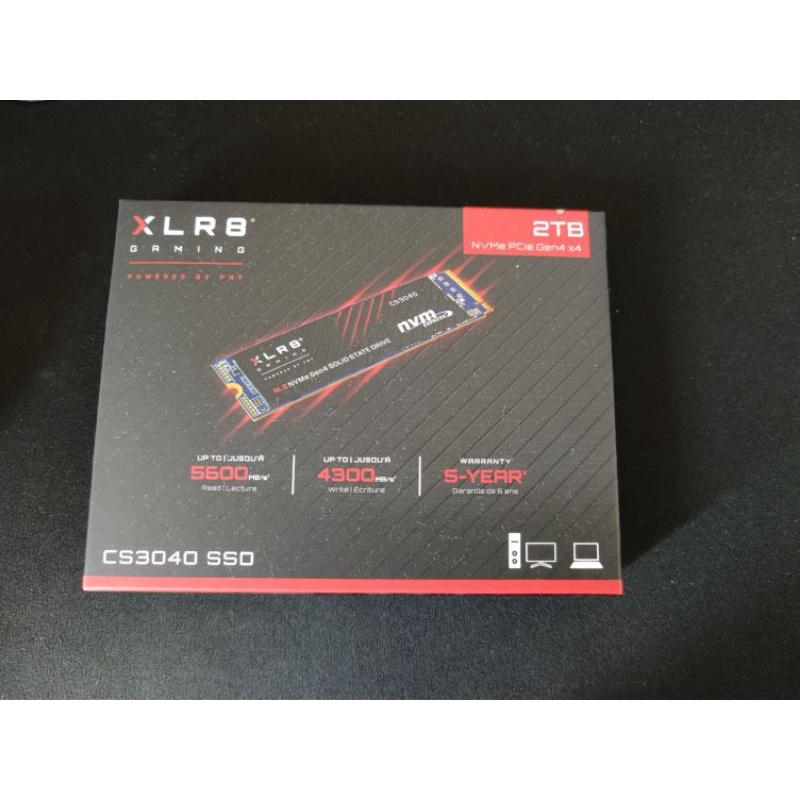 PNY XLR8 CS3040 2TB 近全新