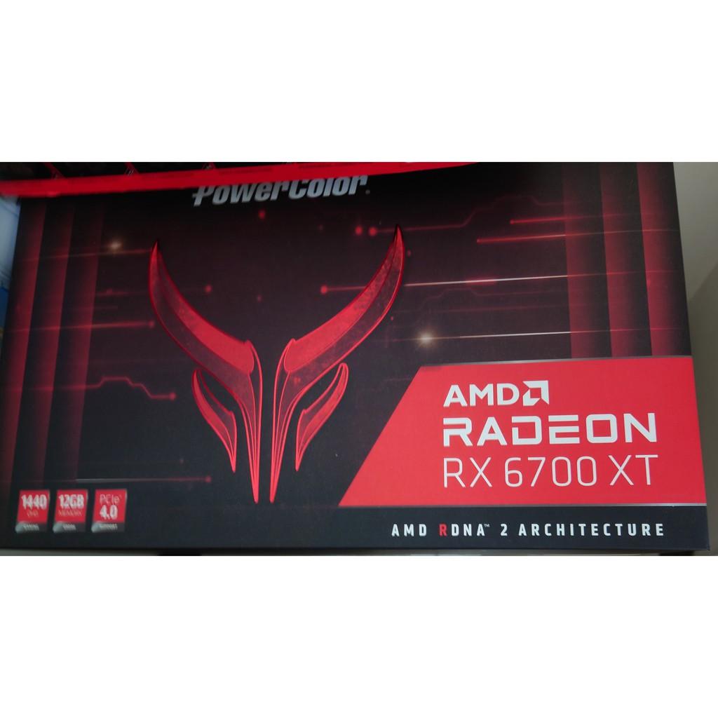 撼訊Powercolor RX6700XT Red Devil 紅魔 換3070 LHR
