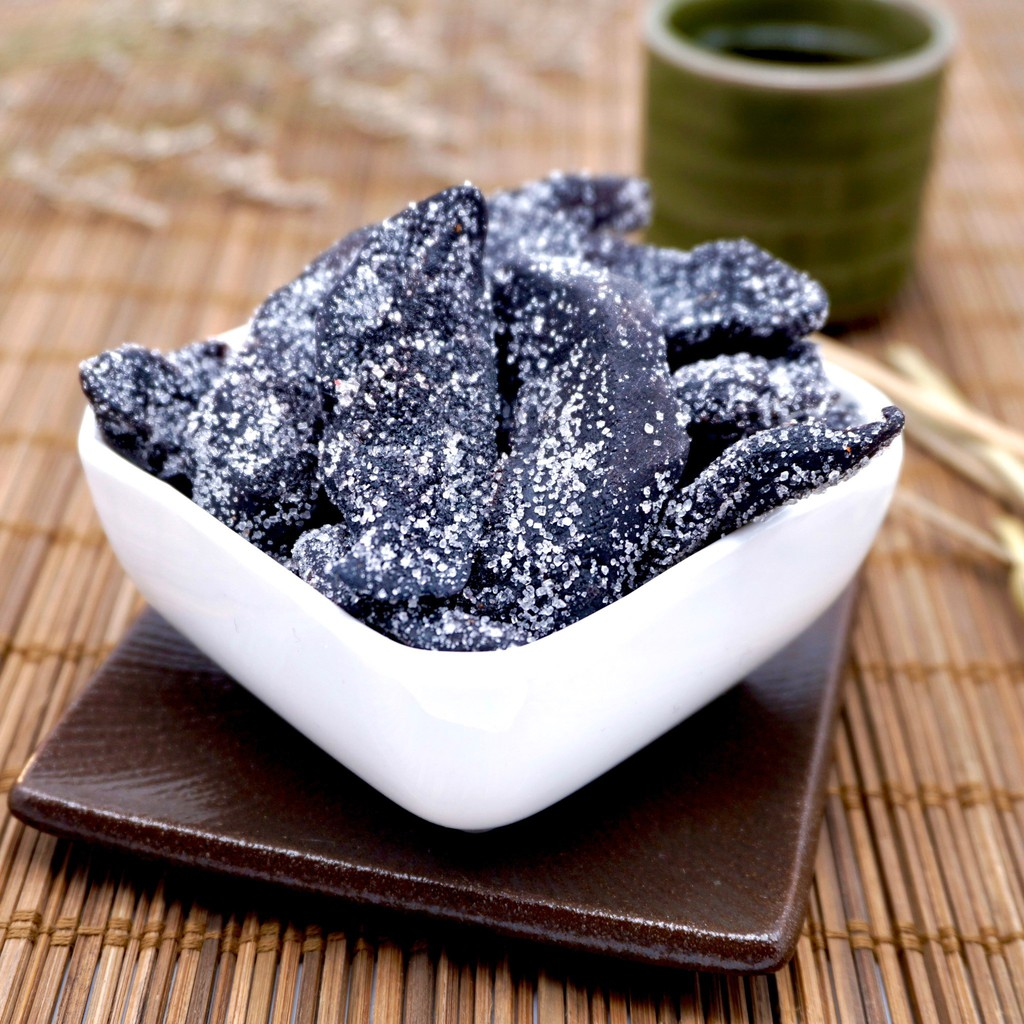【嘴甜甜】糖酥黑芒果 200公克 蜜餞系列 古早味 純素