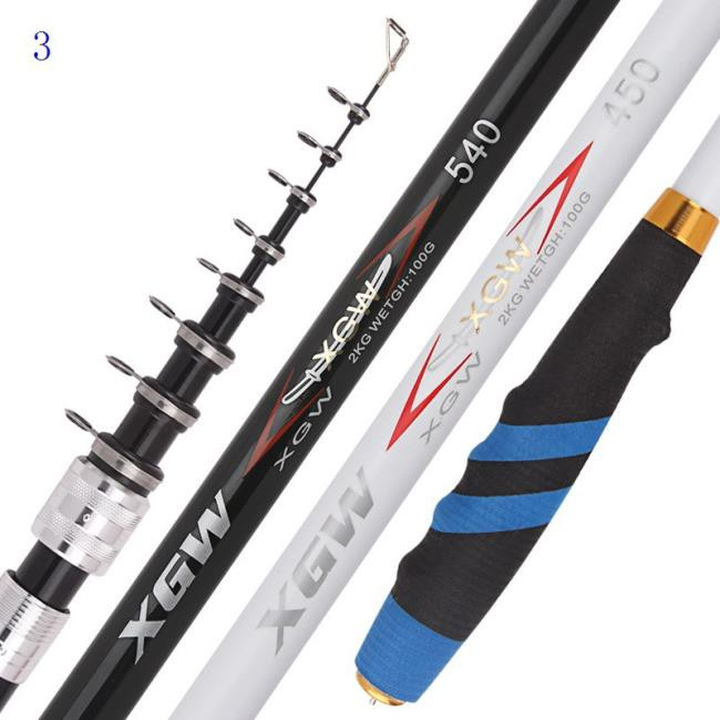?? 日本魚竿 定位磯竿 高碳素釣竿 3號磯釣桿 5.4 7.2米手海兩用釣桿 拋竿 超長超