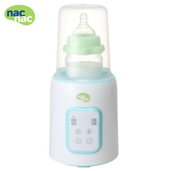 nac nac 多功能溫奶器/保溫器/加熱器 (送玻璃奶瓶120ml)