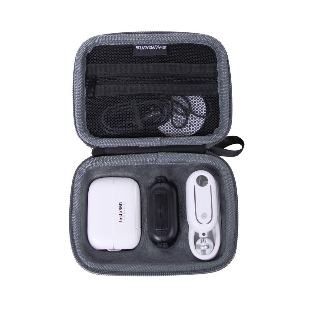 適用於 Insta360 Go 2 儲物袋迷你手提箱手提包保護盒, 用於 Insta360 Go2 相機配件