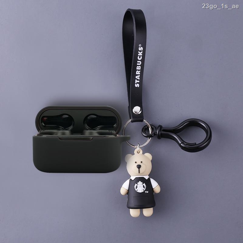 台灣發貨 適用萬魔PistonBuds無線藍牙耳機保護套卡通1MORE/萬魔耳機套防摔保護殼潮酷個性掛件充電倉防滑硅膠軟