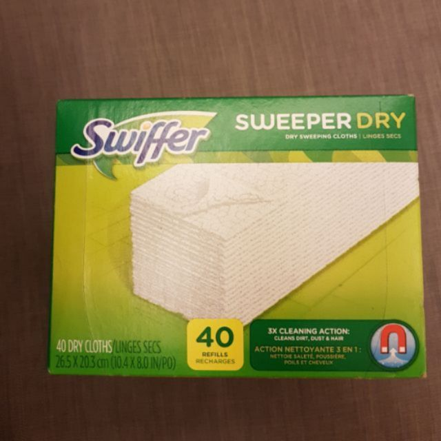 好市多乾除塵紙swiffer