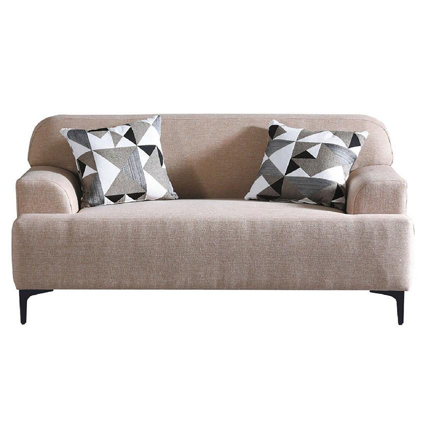 【152cm多色雙人布沙發-E321-4】雙人座 L型沙發 貓抓皮 布沙發 沙發工廠【金滿屋】