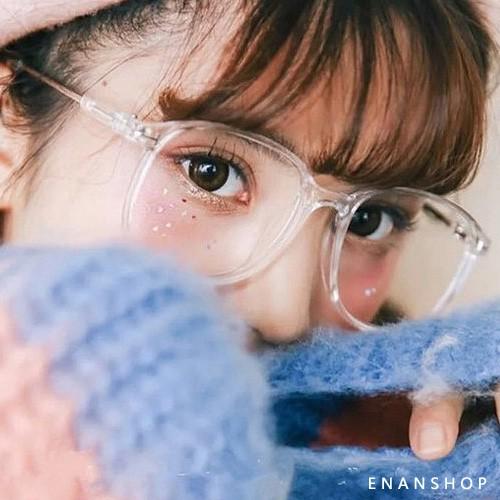 透明金屬大框眼鏡 【送鏡袋鏡布】護目鏡 韓國熱賣款 黑框眼鏡 惡南宅急店【0052M】