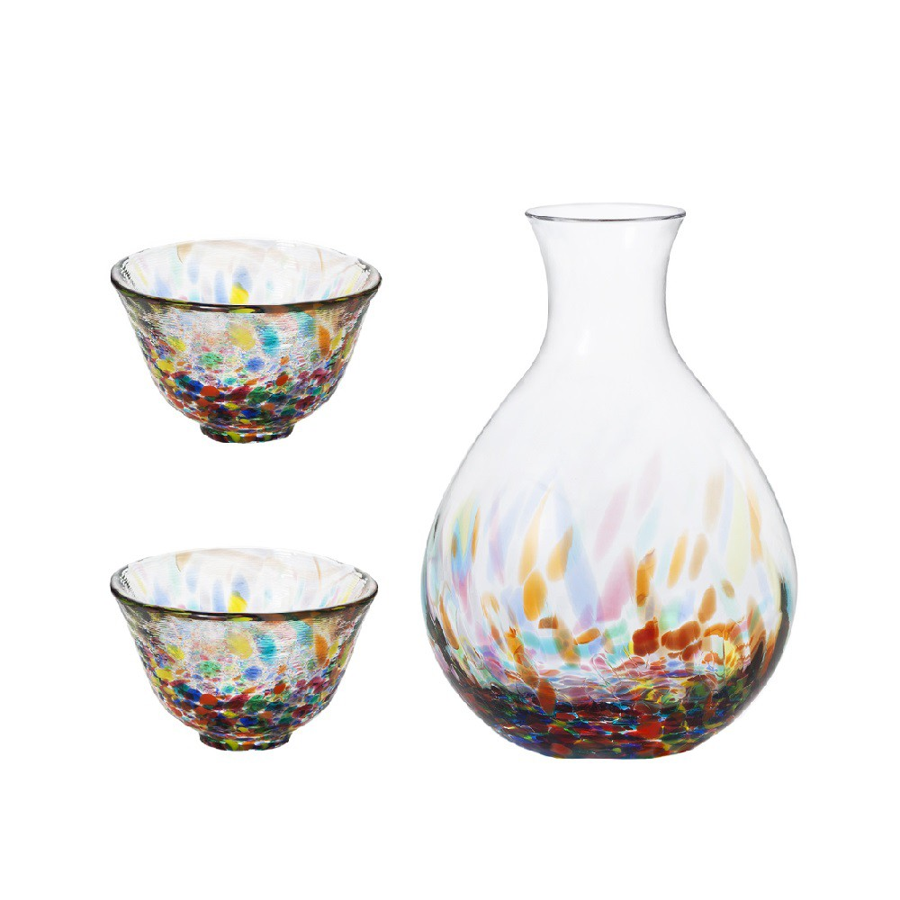 【日本津輕】青森夏風杯壺組(1壺2杯)《WUZ屋子》清酒杯 酒壺