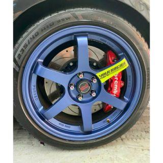 🔥RAYS TE37 TE32車框貼紙 適用17 18 19吋 海拉風 輪胎貼 輪框貼 鋁圈貼紙 暴龜 低趴族 BBS