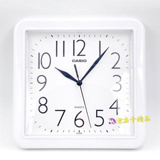 🦄潔西卡精品-日本 卡西歐 CASIO IQ-02 白色 方形 掛鐘 白底黑字 數字清晰 原裝公司貨 附有原廠保證卡 台北市