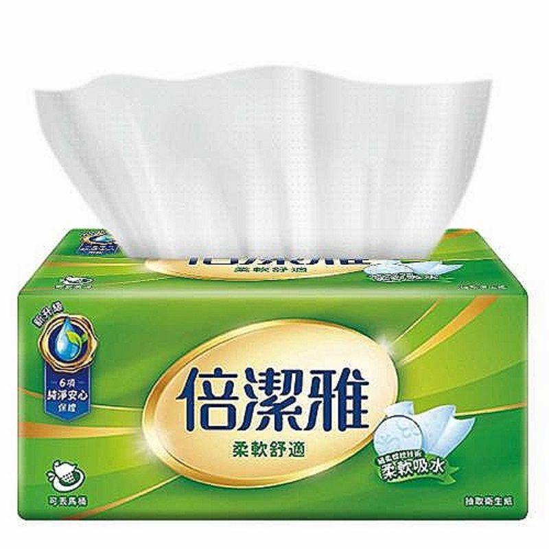 【愛蝦拼】倍潔雅 抽取式 衛生紙 150抽 84包 56包 60包 柔軟舒適 清新柔感