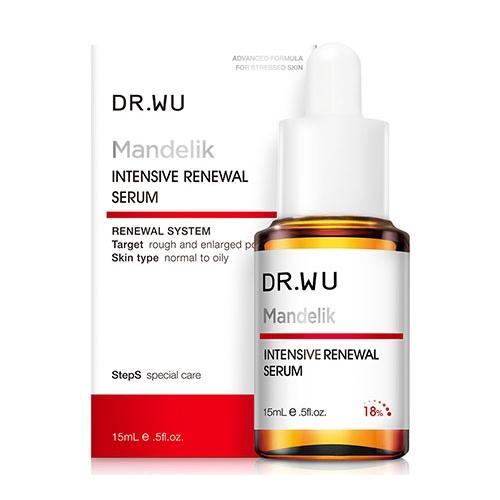 Dr.Wu 杏仁酸亮白煥膚精華18%(15ml)【小三美日】D501942