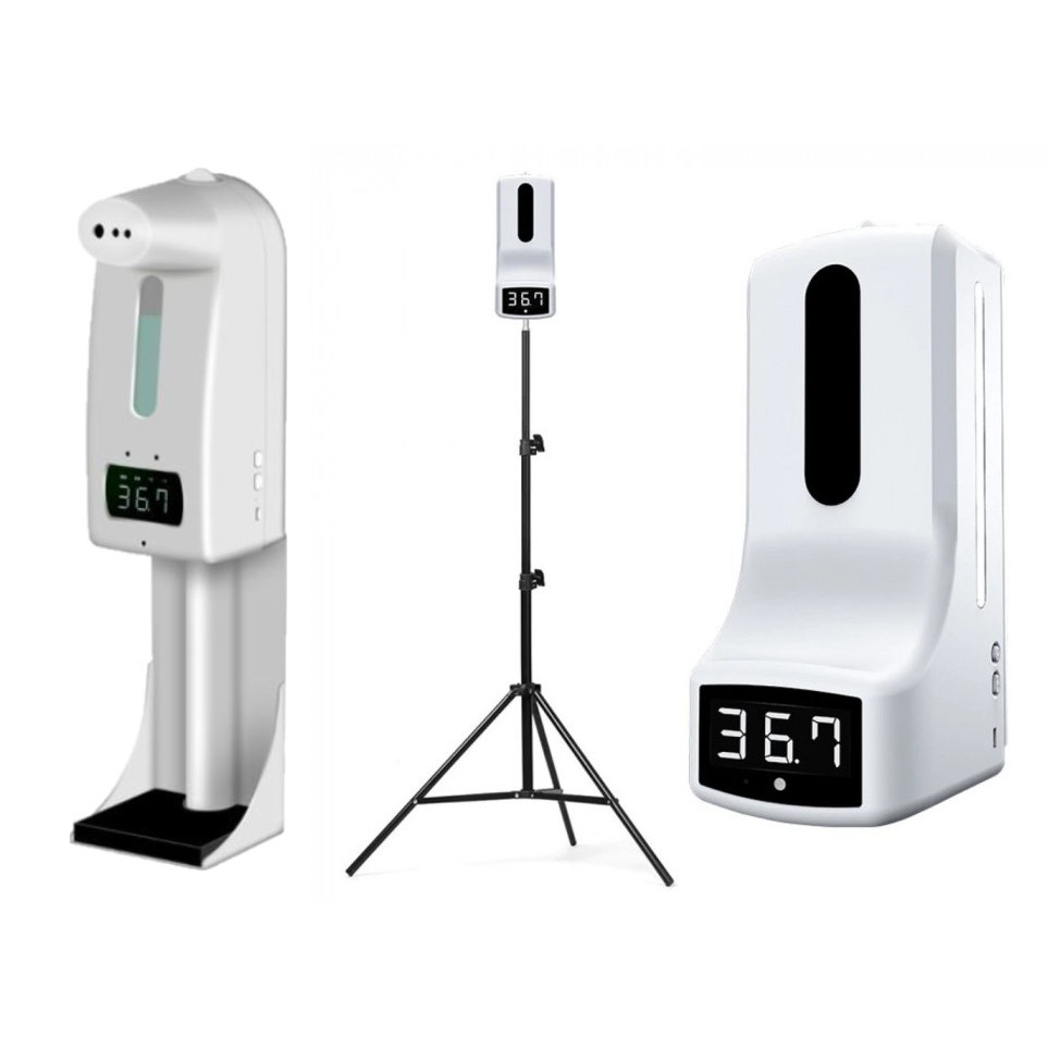 K10 Pro  K9 Pro自動 測溫 酒精 噴霧 消毒 一體機 落地支架 額溫 體溫 溫度 手溫 防疫 掛壁