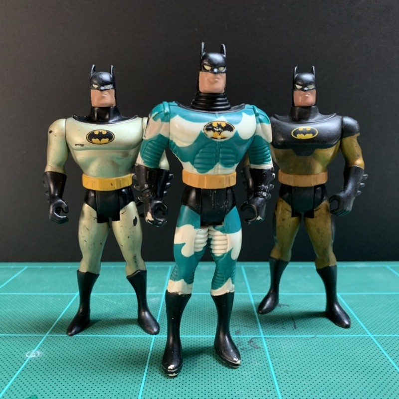 1994 Kenner 蝙蝠俠 三人合售 Batman DC