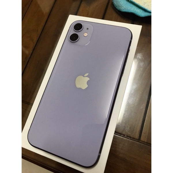 二手 中古 apple 蘋果 IPhone 11  紫色 128G  iPhone 哀鳳 iPhone11
