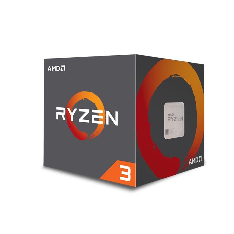 【批發 下單秒發 】AMD 銳龍Ryzen 3 1200四核台式機處理器 散片CPU(AMD AM4) kKpo