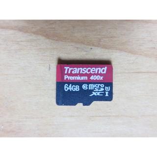 創見Transcend SDHC 64GB 400X/ U1C10 microSD TransFlash 直購價430